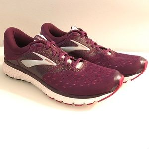 Display Glycerin 16 Purple Pink Grey Running Shoes
